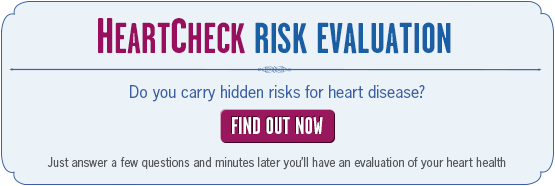 Heart check Risk Evaluation